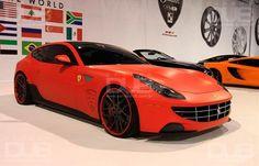 ferrari ff   Ferrari FF rebaixada com rodas aro 22   Carros DUB