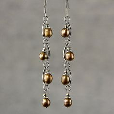wire and pearls -