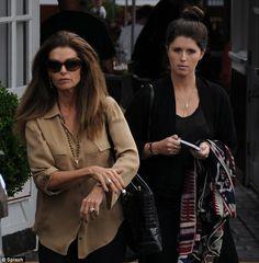 Maria Shriver and daughter Katherine Schwarzenegger.