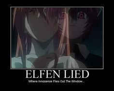 Lucy finds out she has fans of her and Elfen Lied! Description from deviantart.com. I searched for this on bing.com/images