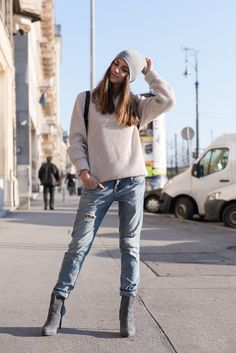ootd, outfit, boyfriend style, street style, fashion blog, blogger, fashion, jeans, spring outfit, spring, backpack, boyfriend jeans, boyfriend