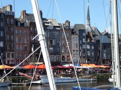 Honfleur Normandy France (my photo August '16)
