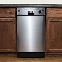 """For small homes and empty nesters, this smaller dishwasher fits the bill.  Instead of going two days between washings, this will allow you to do a cycle every day - while saving energy and water. EdgeStar Energy Star 18"""" Built-In Dishwasher"""