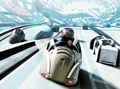 Minority Report cars, 2002 (Steven Spielberg)