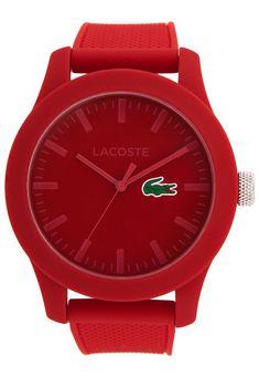 Me encanta! Miralo! Reloj Rojo Lacoste  de Lacoste en Dafiti