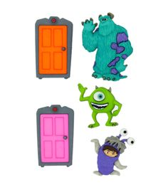 Dress It Up Licensed Embellishments- Disney Monsters, Inc.