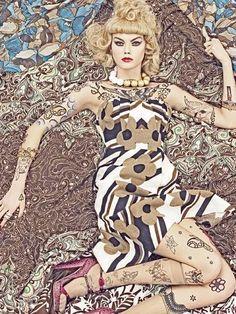 Steven Meisel ~ETS #fashioneditorial