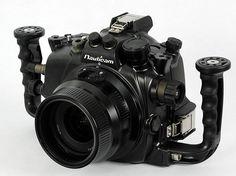 Nauticam 7D Super viewfinder set 4FG Underwater Case for Canon EOS 7D Japan F/S #Nauticam