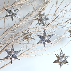 Mexican tin star lanterns in various sizes will be part of our decor.