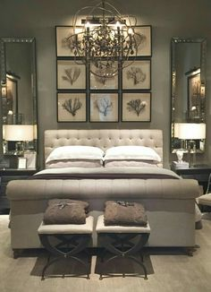 The Master Bedroom Painting. 20 the Master Bedroom Painting. Our Freshly Painted Master Bedroom with Contrast Trim Gray Bedroom, Master Bedroom Design, Home Bedroom, Bedroom Designs, Master Bedrooms, Mirror Bedroom, Pretty Bedroom, Bedroom Colors, Master Bed Room Ideas