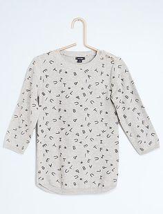 Trui-jurk van glanstricot Meisjeskleding 10,00€ voor Trui jurk- Ontdek onze…