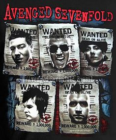 Avenged Sevenfold WANTED!