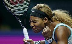 Serena Williams Beats Caroline Wozniacki in Thrilling Third Set Tiebreak to Reach Singapore Finals