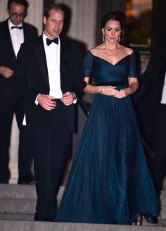 Kate Middleton Shows Off Her Baby Bump at a Superglam NYC Gala
