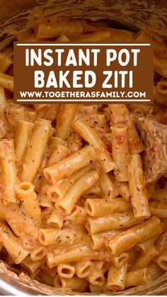 Cheesy Baked Ziti Recipe, Easy Baked Ziti, Vegan Recipes Easy, Beef Recipes, Cooking Recipes, Family Recipes, Healthy Cooking, Yummy Recipes, Noodles