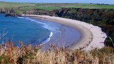 The Whistling Sands Beach, Aberdaron, Wales, which squeak underfoot © National Trust Camper, Pembrokeshire Wales, Southern Ireland, Pretty Beach, Wonderful Places, Amazing Places, North Wales, National Trust, Luxor Egypt