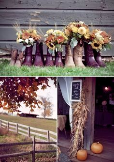 A Rustic Barn Wedding Brimming With Autumn Details