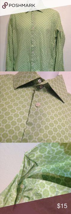 banana republic Green button down shirt sz 16-16.5 banana republic Green button down shirt size 16-16.5 no holes or stains. Banana Republic Shirts Casual Button Down Shirts
