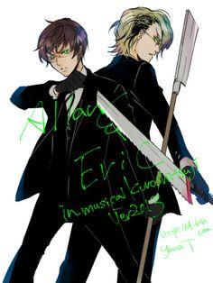 Black Butler - Eric Slingby x Alan Humphries - Slingphries
