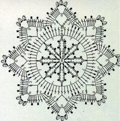 snowflake crochet 1 ⋆ Crochet Kingdom