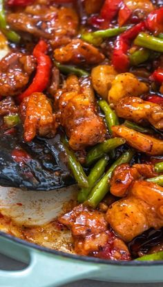 A simple quick stir fry with chicken green beans and sweet chili sauce. Asian Cooking, Easy Cooking, Cooking Recipes, Easy Chicken Recipes, Asian Recipes, Healthy Recipes, Fish Recipes, Recipies, Sweet Chili Chicken
