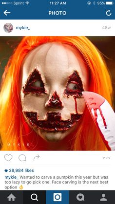 This is awesome she is a great artist!!!! #GlamGore