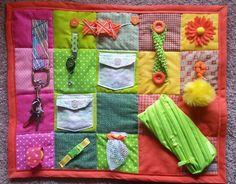 Alzheimer/Dementia Fidget Blanket by BlanketBlessingStore on Etsy