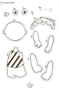 Parts of the Body Activities. | Aprender e Brincar                                                                                                                                                      Más