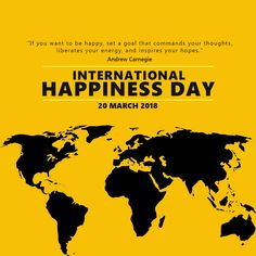 Zakti Digital Services wishes everyone a lot Happiness ahead.  INTERNATIONAL HAPPINESS DAY, 20 MARCH 2018  #InternationalDayOfHappiness #ZaktiDigital #ZaktiGuwahati #DigitalMarketing International Day Of Happiness, Online Campaign, Brand Promotion, Reputation Management, Digital Marketing, March, Mac