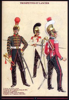 Les cavaliers de la Grande Armée :: Chevau-léger Iconographie