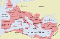 Roman Empire Map in 117 A.D.