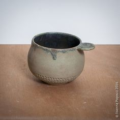 wheel thrown or hand pinched stoneware ceramic mugs Stoneware Mugs, Ceramic Mugs, Decorative Bowls, Pottery, Vase, Ceramics, Handmade, Home Decor, Ceramica