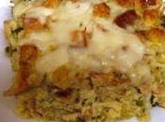Leftover Turkey or Chicken Casserole, Mom's Recipe #recipe #justapinch #thanksgiving
