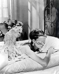 breakfast at tiffanys - Click image to find more Film, Music & Books Pinterest pins