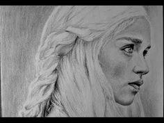 HOW TO DRAW: Daenerys Targaryen from Game of Thrones