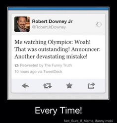 Olympic judges be like almost..., no this is all wrong, did you see that, just terrible, Deduction.
