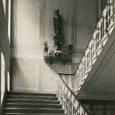 Sopron - A Szent Orsolya rendi intézet: a leánygimnázium lépcsőháza
