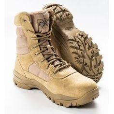 EXC Trooper Desert Tan profesionální vojenská a policejní obuv Combat Boots, Deserts, Army, Shoes, Fashion, Gi Joe, Moda, Zapatos, Military