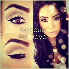 #cateye @makeupbymaya