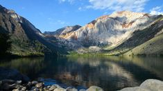 Convict Lake, California - I love when the water is like glass. The resort at Convict Lake inspired the Hangman's Loss Resort that Emma inherits.