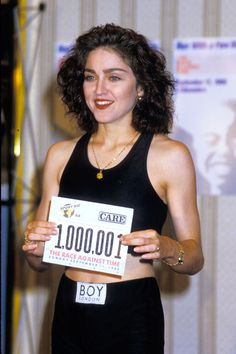 Madonna (1988) Sport Aid's 'Race Against Time'