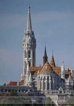 Magyarország Budapest,Mátyás templom a Budavárban.