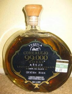 Tequila Corralejo 99,000 horas.  This is one of my favorite ones