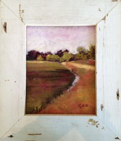 Pastel Painting - Cranberry Bog - Anne Gee
