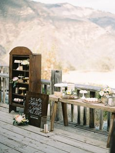 Megan & Adam / Figueroa Farmhouse Wedding / Styled by Beijos Events Wedding Signs, Wedding Table, Diy Wedding, Wedding Flowers, Wedding Day, Laid Back Wedding, Cowgirl Wedding, Tent Reception, Rustic Theme