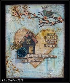 Love Is In The Details - Online scrapbooking store - canvas by Lisa Tottle
