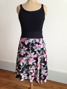 Gorgeous floral tango skirt by BellaTango on Etsy