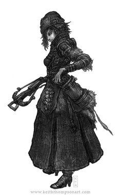 Drakia: Vampire Hunter. Illustrated by Keith Thompson