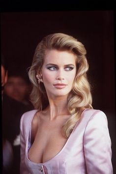 Claudia Schiffer was on top of the world in the late 80s - early 90s