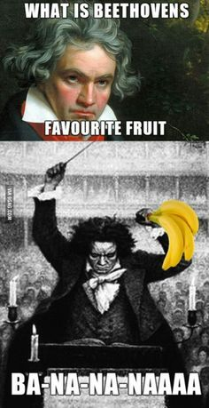 What is Beethoven's favourite fruit?